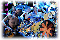Chad Smith & Flea giving it some