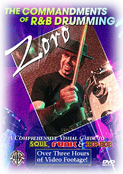 Zoro - 'The Commandments of R&B Drumming' DVD