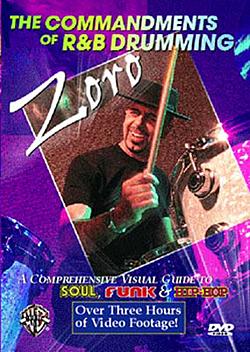Zoro - 'The Commandments of R&B Drumming' DVD