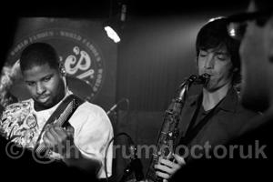 Michael Ballard & Tim McFatter from 'Orleans Avenue', Eric's, Liverpool 2011