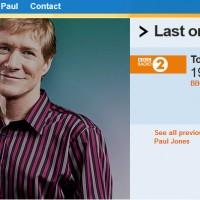 Paul Jones Radio Show image