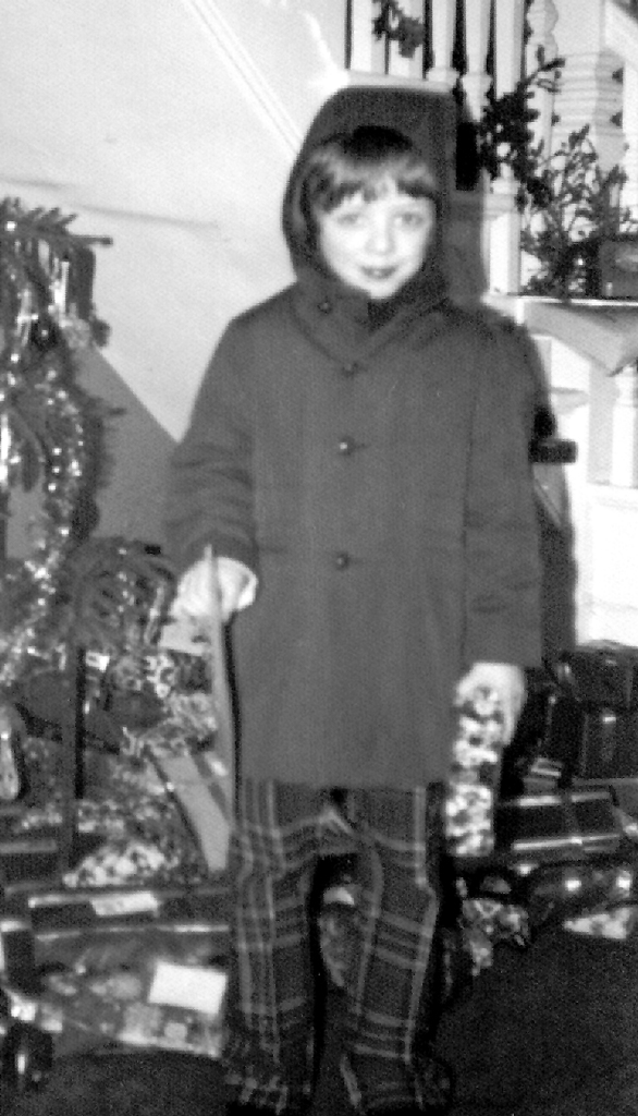 Me aged 6 or 7