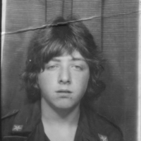 Bus-Pass mugshot, photobooth, circa 1981