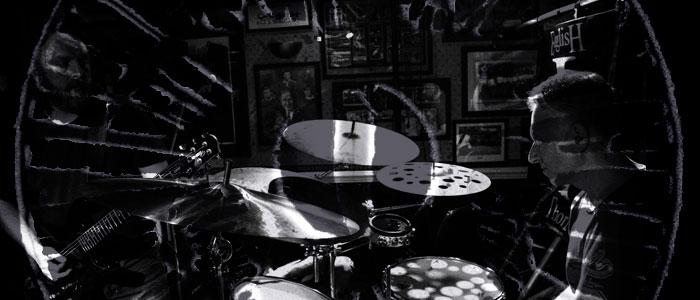Nick Lauro, drums.